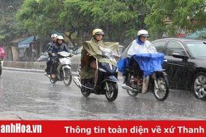 Cảnh báo tiếp tục có mưa rào và giông, sét tại Thanh Hóa