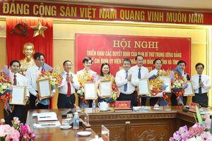Ban Bí thư chỉ định nhân sự mới Tỉnh ủy Hà Tĩnh