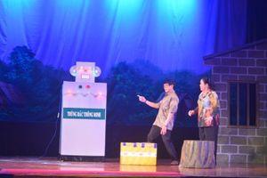 'Thùng rác thông minh' đoạt giải nhất cuộc thi sáng tác tiểu phẩm