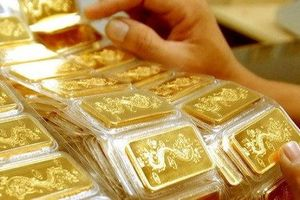 Chốt phiên cuối tuần, giá vàng trong nước tăng 'sốc'