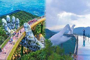Lạ lùng cầu Tiên Thủ mới xây của Trung Quốc giống cầu Vàng của Việt Nam đến bất ngờ