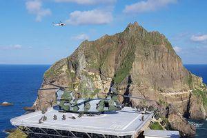 Hàn Quốc tập trận ở đảo tranh chấp, Nhật Bản phản ứng gay gắt