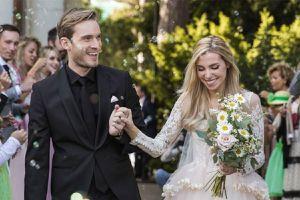 Bộ ảnh cưới đẹp lung linh của PewDiePie