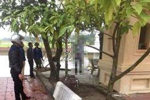 Thái Bình: Tá hỏa phát hiện công an viên tự tử