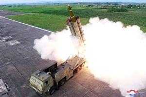 Triều Tiên xác nhận thử nghiệm thành công hệ thống tên lửa đa nòng siêu lớn