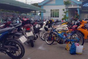 Ngăn chặn hàng trăm 'quái xế' tụ tập đua xe trên QL1 ở Hậu Giang