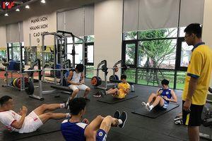 Trọng Hoàng không kịp bình phục cho trận đấu ĐTVN gặp Thái Lan