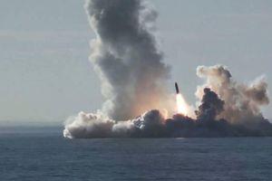 Nga thử tên lửa phóng từ tàu ngầm