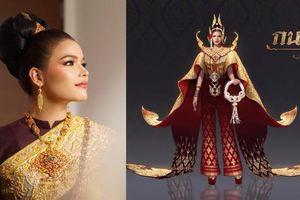 Choáng ngợp thực sự với trang phục dân tộc của Hoa hậu Hoàn vũ Thái Lan
