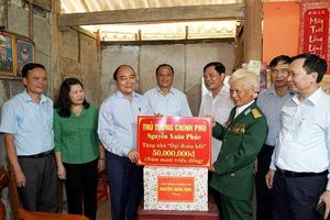 Thủ tướng Nguyễn Xuân Phúc dự 'Lễ kỷ niệm 70 năm Ngày giải phóng tỉnh Bắc Kạn 24/08/1949-24/08/2019'