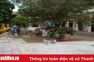 Huyện Đông Sơn tập trung đầu tư xây dựng trường chuẩn quốc gia