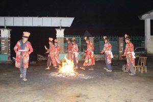 Cao Bằng: Các điệu múa trong lễ nhảy lửa của người Dao Đỏ