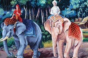 Tục sùng bái voi trắng của người Myanmar