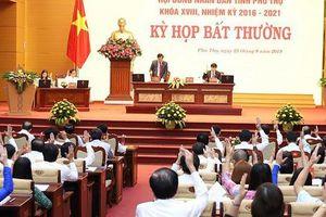 Phú Thọ họp bất thường bầu Phó Chủ tịch tỉnh