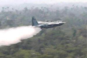 Brazil điều máy bay quân sự chữa cháy rừng Amazon