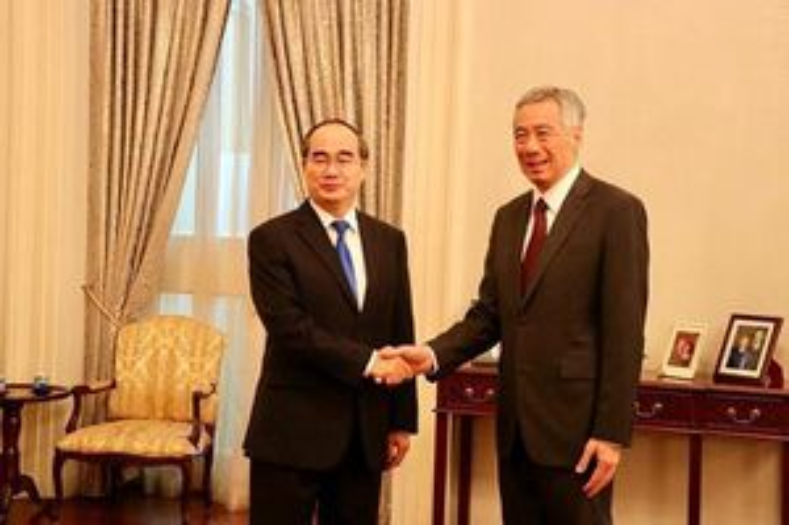 Thủ tướng Lý Hiển Long đánh giá cao hợp tác với TP.HCM