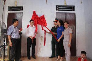 Viettel Hà Nội tổ chức bàn giao 'Ngôi nhà 100 đồng' cho gia đình hộ nghèo tại huyện Chương Mỹ