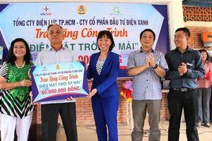 Trao tặng hệ thống điện mặt trời cho Trung tâm nuôi trẻ khuyết tật