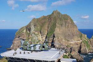 Tập trận quy mô lớn tại quần đảo tranh chấp với Nhật Bản, Hàn Quốc đề nghị không gắn mác 'chính trị'