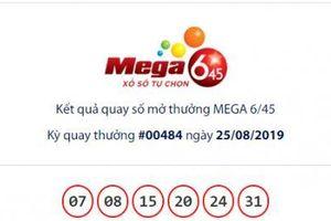Xổ số Vietlott: Giải Jackpot Mega 6/45 hơn 50 tỷ đồng đã có chủ nhân chưa