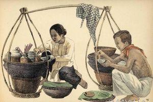 Loạt tranh ký sinh động về thời trang, cuộc sống người Nam bộ đầu thế kỷ 20