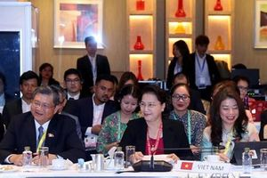Chủ tịch Quốc hội Nguyễn Thị Kim Ngân dự họp Ban Chấp hành AIPA