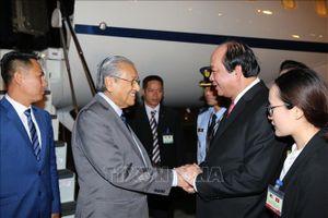Thủ tướng Malaysia Mahathir Mohamad bắt đầu thăm chính thức Việt Nam