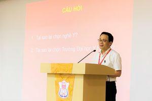 GS.TS. Tạ Thành Văn đặt kỳ vọng Trường Đại học Y Hà Nội vào thế hệ trẻ tài năng