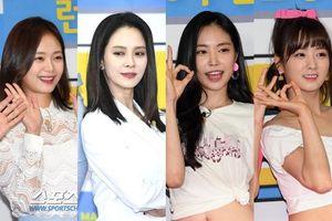 Họp fan kỷ niệm 9 năm 'Running Man': Song Ji Hyo đẹp quyến rũ, áp đảo Apink và Jeon So Min