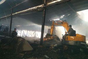 Tiền Giang: Xảy ra vụ cháy lớn tại nhà máy giấy