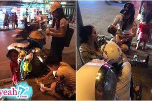 Xót xa số phận người mẹ một nách hai con thơ đi nhặt ve chai, ngất xỉu giữa đường vì kiệt sức