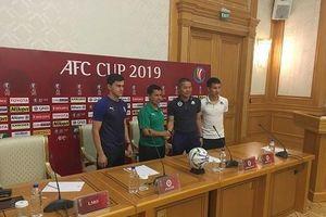 'Hà Nội quyết đấu ở AFC Cup để tạo cú hích cho bóng đá Việt Nam'