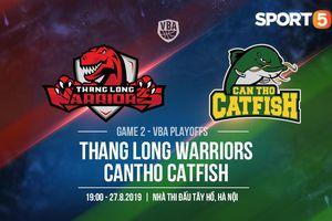 Làm khách tại sân nhà Thang Long Warriors, ngày thoái vị của Cantho Catfish?