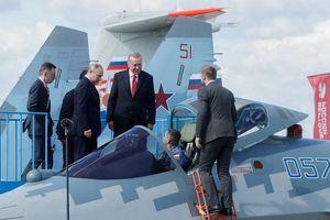 Nga và Thổ Nhĩ Kỳ thảo luận việc mua máy bay chiến đấu Su-57