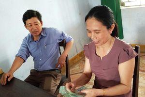 Nghĩa cử cao đẹp của thầy giáo xứ Huế
