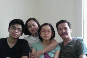 NSND Trung Anh 'khoe' ảnh gia đình hạnh phúc