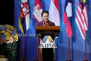 Chủ tịch Quốc hội phát biểu tại AIPA 40: Tiếp tục đề cao vai trò trung tâm của ASEAN