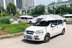 Cận cảnh 7 sân dạy lái xe 'chui' hoạt động công khai giữa Hà Nội nhiều năm