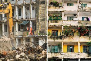 Hoài niệm nhà B tập thể Quang Trung trong những ngày dỡ bỏ