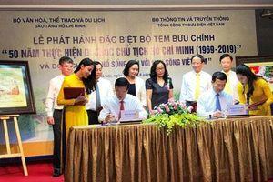 Phát hành bộ tem '50 năm thực hiện Di chúc Chủ tịch Hồ Chí Minh (1969 - 2019)'