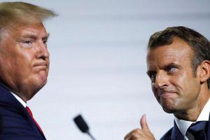 Họp báo chung Pháp-Mỹ về vấn đề hạt nhân và thương mại