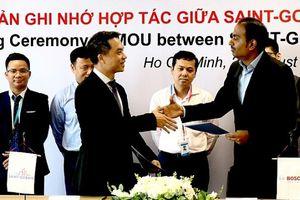 Bosch Việt Nam và Saint-Gobain ký kết Biên bản Ghi nhớ