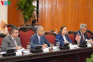 Việt Nam và Malaysia đồng thuận phần lớn các vấn đề trên Biển Đông