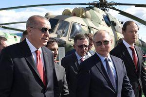 Tổng thống Nga - Thổ Nhĩ Kỳ hứa tăng cường hợp tác quốc phòng