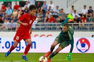 U15 Việt Nam tạo địa chấn trước đội bóng châu Âu