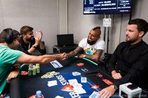 Pique thắng lớn ở giải poker châu Âu