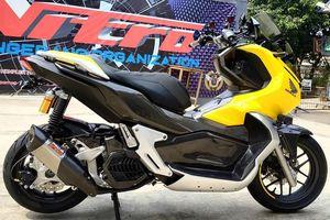 Honda ADV 150 độ độc với thân xe carbon và dàn đồ chơi đắt tiền