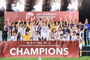 ĐT nữ Việt Nam vô địch AFF Cup 2019
