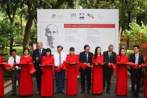 Triển lãm trên 100 tài liệu lưu trữ đặc biệt của Việt Nam và quốc tế về Chủ tịch Hồ Chí Minh