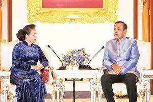 Chủ tịch Quốc hội Nguyễn Thị Kim Ngân hội đàm, hội kiến các nhà lãnh đạo Thái-lan